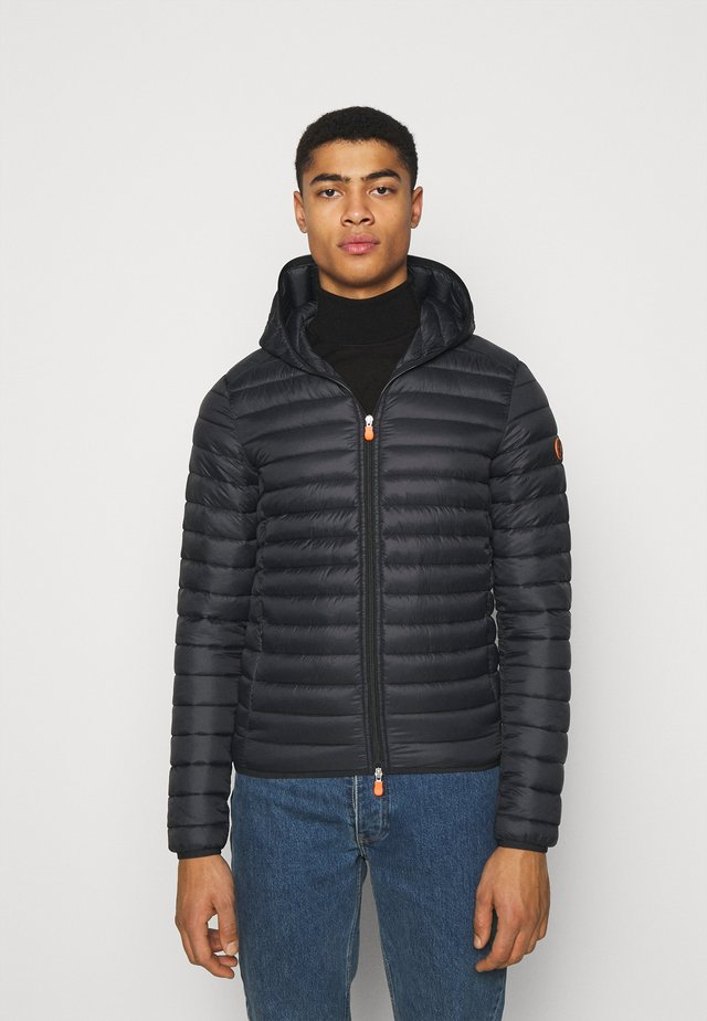 DONALD HOODED JACKET - Winterjas - black