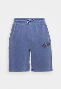 Vintage Supply - OVERDYE BRANDED - Shorts - navy - 3