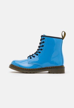 1460 UNISEX - Lace-up ankle boots - mid blue