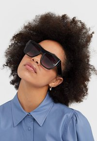 Stradivarius - Sunglasses - black - 1