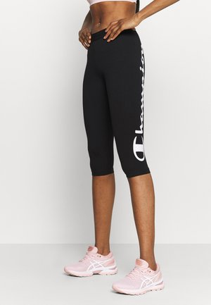 LEGGINGS - Pantaloncini 3/4 - black