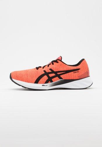 ROADBLAST - Neutral running shoes - sunrise red/black
