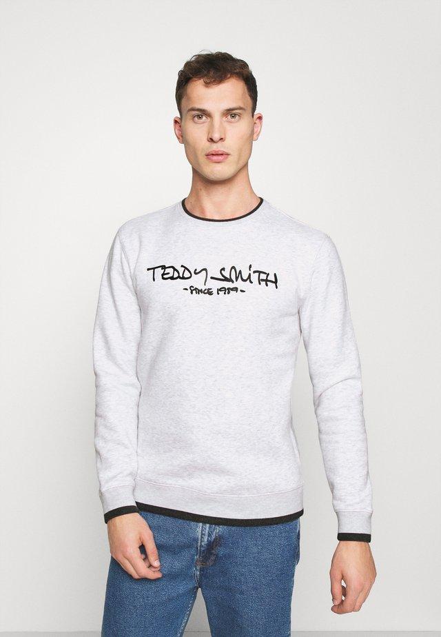 SICLASS - Sweater - white melange