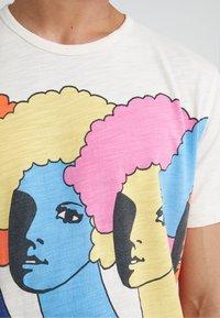 YMC You Must Create - HEADS TEE - T-shirt con stampa - ecru - 5
