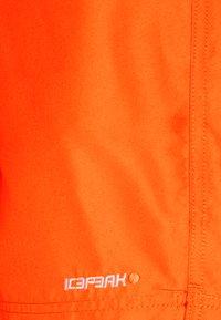 Icepeak - MELSTONE - Outdoorové kraťasy - dark orange - 5