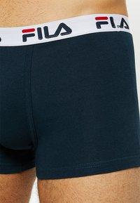 Fila - TRUNK 3 PACK - Onderbroeken - white/black/navy - 4