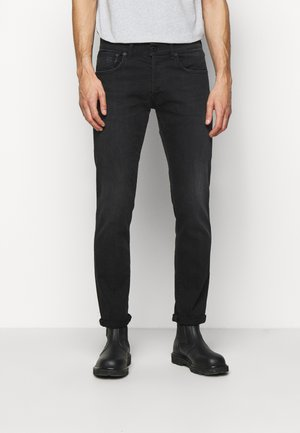 PANTALONE QUENTIN - Džíny Straight Fit - black denim