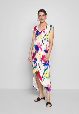 ADELAIDE DRESS - Žerzejové šaty - off white/multicolour
