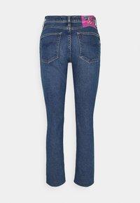 Replay - ROSE COLLECTION JULYE PANTS - Straight leg jeans - medium blue - 1