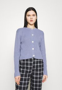 Monki - PAMELA CARDIGAN - Cardigan - blue light - 0