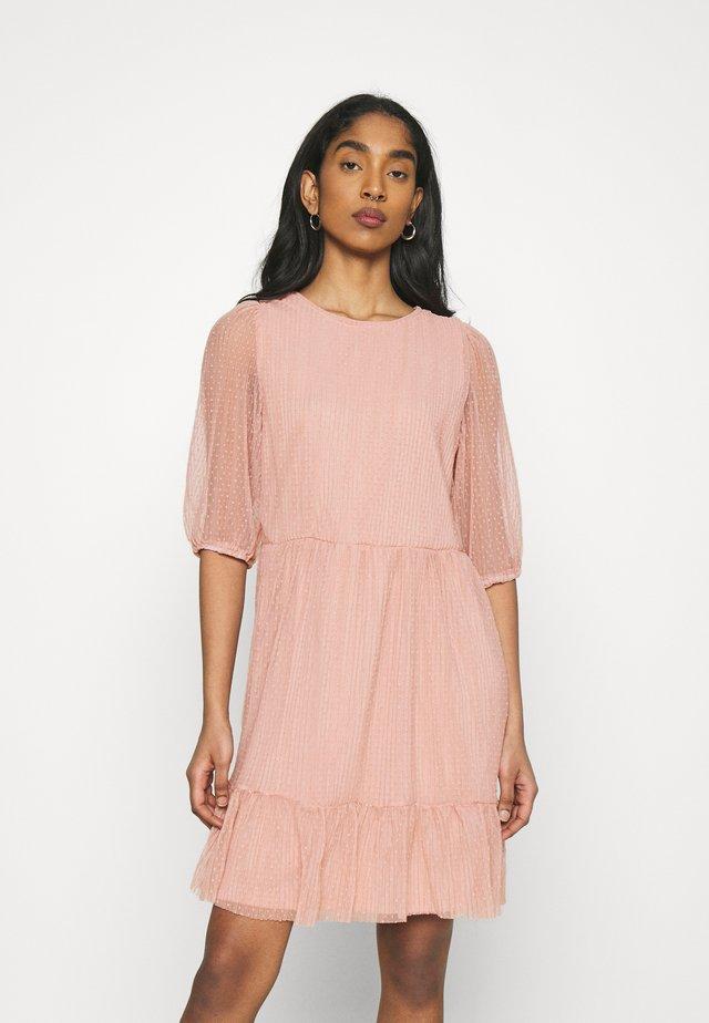 ONLETTA PUFF DRESS  - Sukienka letnia - misty rose