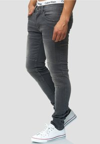 INDICODE JEANS - Jeans Slim Fit - lt grey - 3