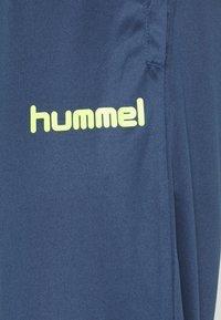 Hummel - PROMO SUIT - Tepláková souprava - dark denim - 5