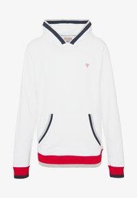 Guess - ALBAN HOODIE  - Bluza z kapturem - blanc pur - 3