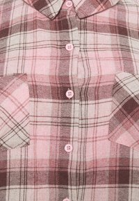 Missguided Plus - OVERSIZED CHECK  - Button-down blouse - pink - 2