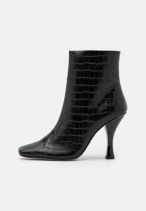 ROCCO BOOT - High heeled ankle boots - black