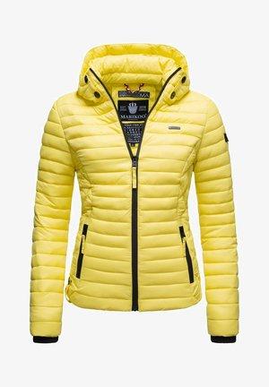 SAMTPFOTE - Light jacket - zitronengelb