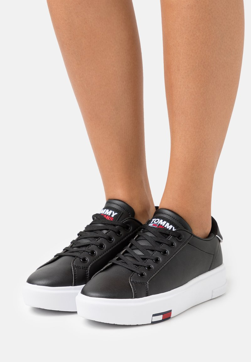 Tommy Jeans - FASHION CUPSOLE - Sneakers basse - black