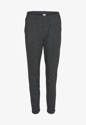 SARAH - Pantalones - dark grey melange
