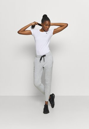RIVAL PANTS - Tracksuit bottoms - steel medium heather