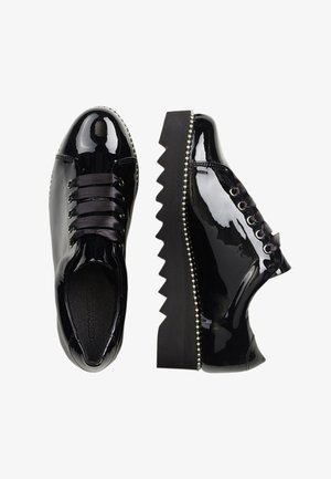 UDELE - Lace-ups - black
