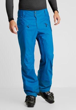 SNOWSHOT PANTS - Spodnie narciarskie - balkan blue