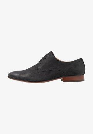 TILAWET - Elegantní šněrovací boty - black