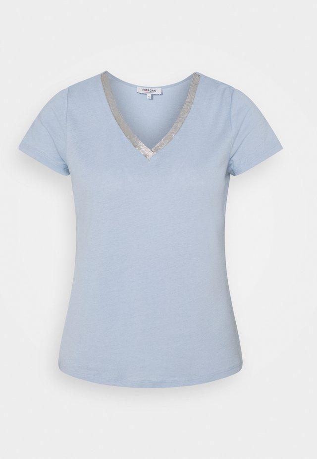 DORE - Print T-shirt - ciel