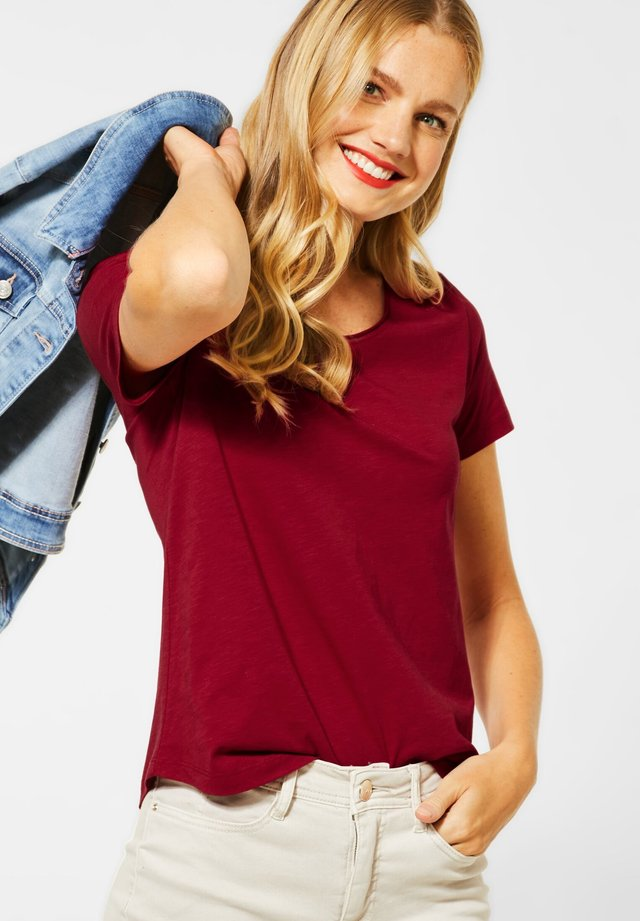 GERDA  - Basic T-shirt - rot