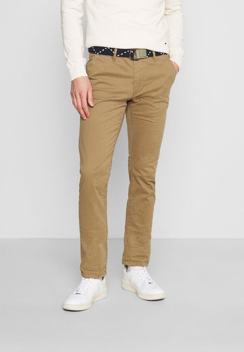 Teddy Smith - PALLAS - Chino kalhoty - bois brun