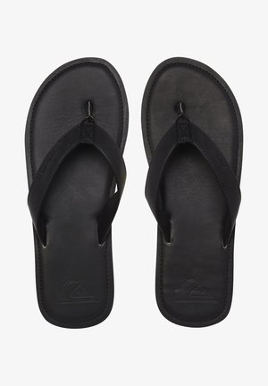 Slippers - solid black