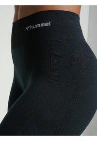 Hummel - Tights - black melange - 3