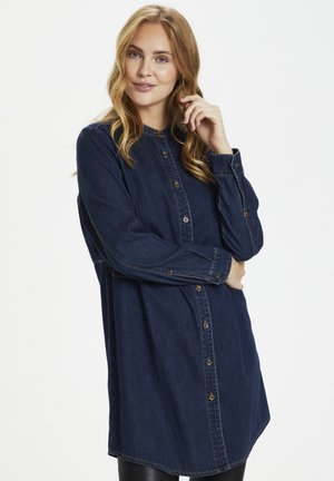 CUPAOLA - Button-down blouse - blue wash