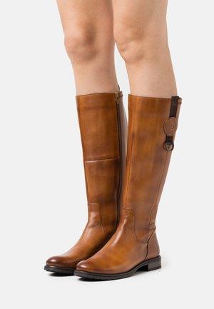 RONJA - Boots - cognac