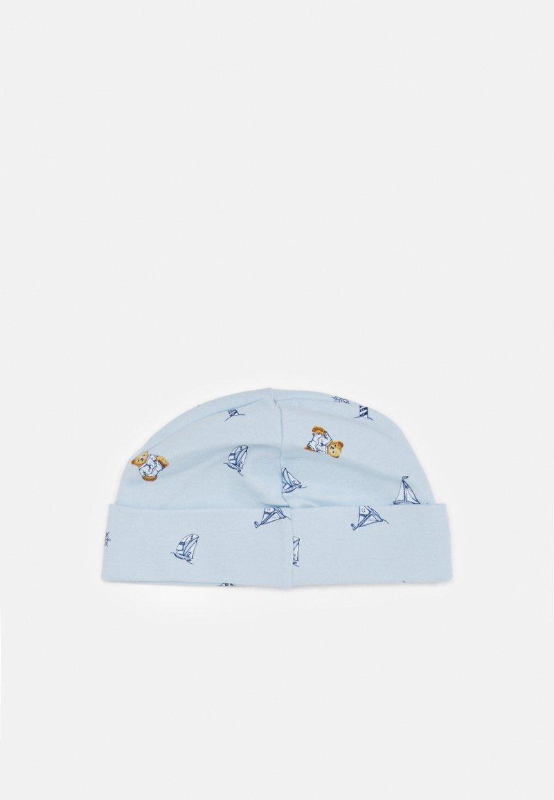 Polo Ralph Lauren - BEAER BEANIE APPAREL ACCESSORIES UNISEX - Beanie - blue/multi