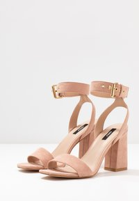 ONLY SHOES - ONLALYX  - Sandali con tacco - nude - 4