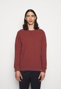 Les Deux - CALAIS - Sweatshirt - rust red - 0