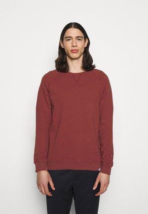 CALAIS - Sweatshirt - rust red