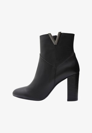 MIRKA - High heeled ankle boots - black