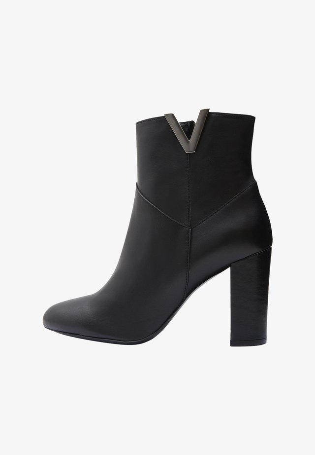MIRKA - Bottines à talons hauts - black