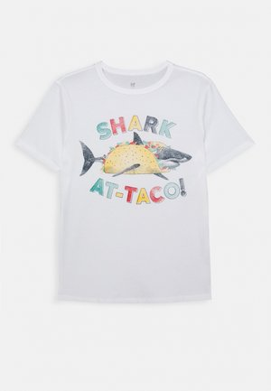 BOYS - Print T-shirt - new off white