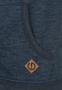 Solid - VITU - Sweat à capuche zippé - blue - 2