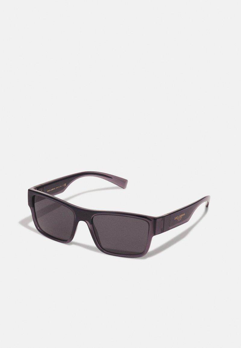 Dolce&Gabbana - UNISEX - Solbriller - transparent grey/black
