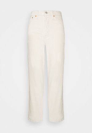 RIBCAGE STRAIGHT ANKLE - Jean droit - sand shell wide wale