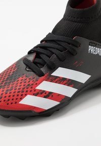adidas Performance - PREDATOR 20.3 TF - Astro turf trainers - core black/footwear white/active red - 2