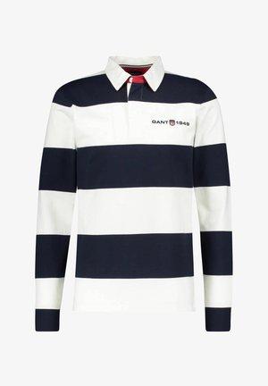 HERREN  - Print T-shirt - bleu