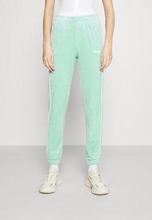 CORPORATE TRACK PANTS - Teplákové kalhoty - blue