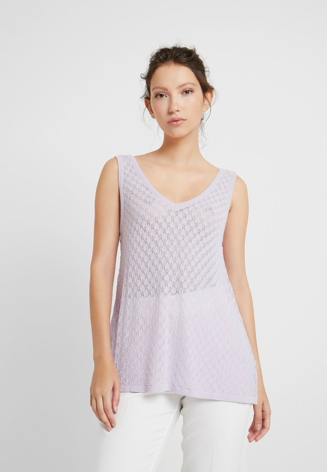 CLAUDINE - Top - lilac