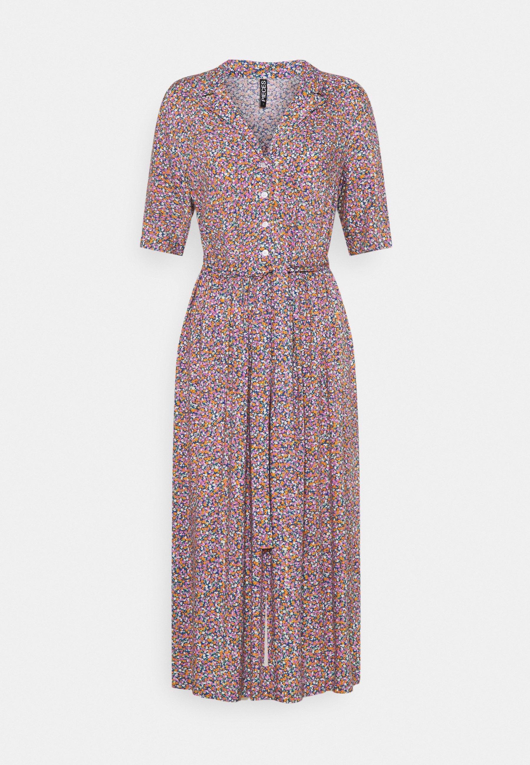 Mujer PCTIMBERLY DRESS TALL - Vestido camisero