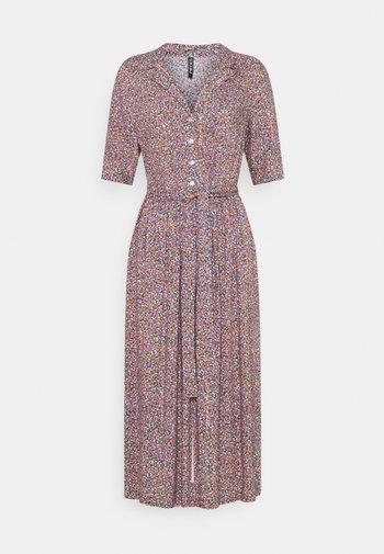 PCTIMBERLY DRESS TALL - Shirt dress - deep ultramarine